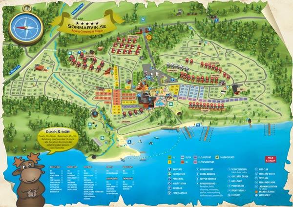 kart årjeng Camping | Årjäng Camping & Stugor Sommarvik ***** kart årjeng