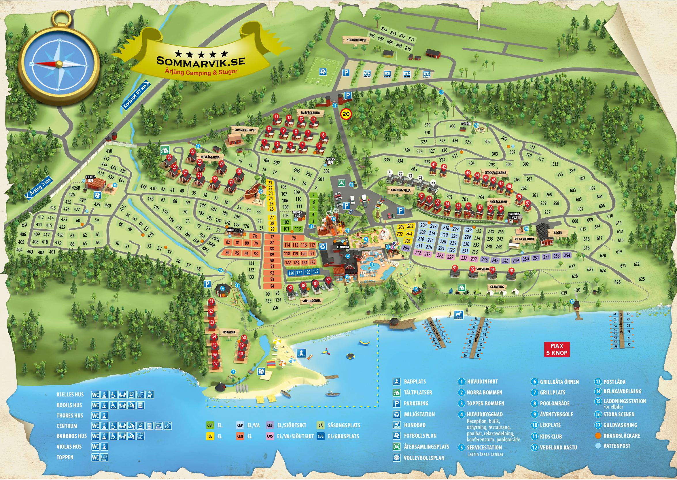Camping Arjang Camping Stugor Sommarvik