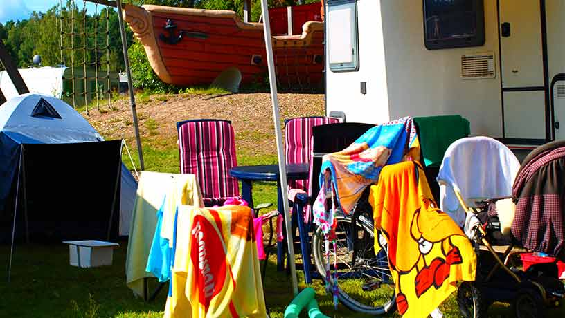 Familjevänlig Campning Värmland