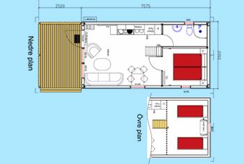 Planritning sjöstugorna Sommarvik